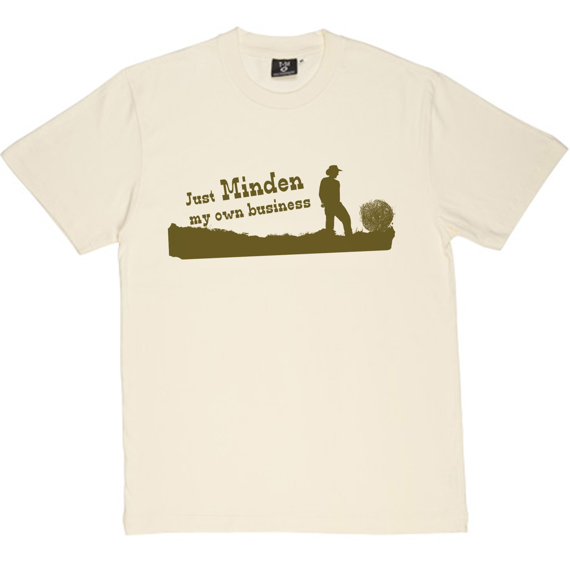 Just minden my own business a small town t shirt design for Print my own t shirt design